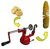 Яблокочистка Машинка для спиральной нарезки картофеля Spiral Potato Slicer