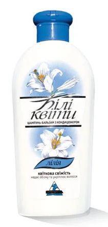 Шампунь - бальзам для волос Белые цветы 270мл в ассортименте