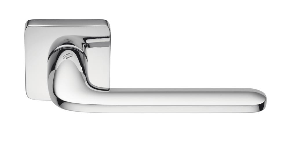 Дверная ручка Colombo Design Roboquattro S хром полированный