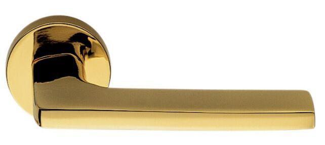 Дверная ручка Colombo Design Gira полированная латунь.
