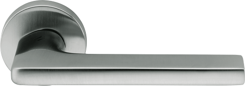 Дверная ручка Colombo Gira матовый хром.