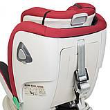 Детское автокресло с системой Isofix от рождения до 12 лет, El Camino I-TRUST ME 1081 красный, фото 10