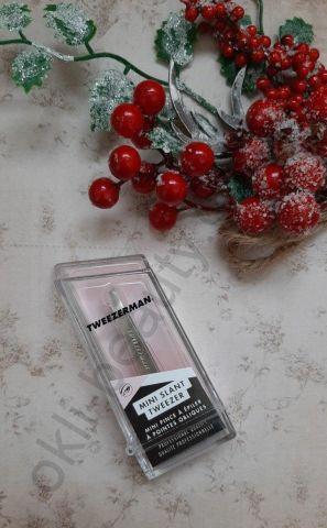 Пинцет Tweezerman Mini (серебро) для бровей