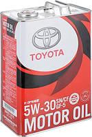 Моторное масло Toyota Motor Oil 5W-30 4л