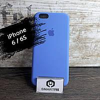 Силиконовый чехол для iPhone 6/6S Soft Ярко-Синий