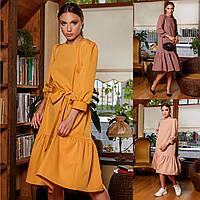 """Платье миди оверсайз модное стильное молодежное """"Таира"""", фото 1"""