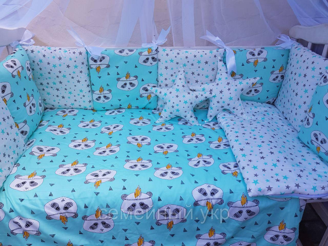 Детское постельное белье в кроватку ТМ Bonna