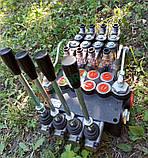 Гидрораспределитель моноблочный 4P80 с электроклапанами 24, фото 9