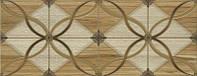 Плитка Интеркерама Arce 23x60 светло-бежевая с рисунком (021-1)