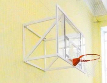 Ферма крепления для щита баскетбольного FIBA фиксированная 600 мм
