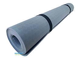 Коврик для йоги и фитнеса «NEWDAY» 1800×600×3мм, EVA, нескользящий Серый