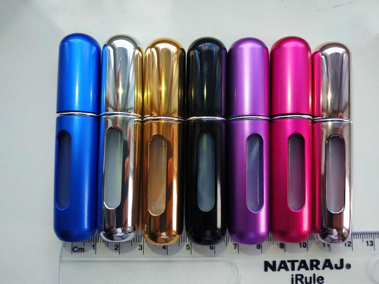 Флакон атомайзер с помпой многоразовый для парфюмерии. Есть опт