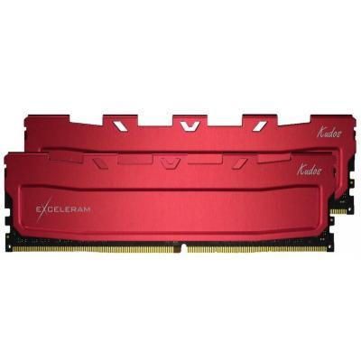 Модуль памяти для компьютера DDR4 64GB (2x32GB) 2400 MHz Red Kudos eXceleram (EKRED4642415CD)
