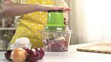 Універсальний подрібнювач vegetable mixer grant   блендер Блискавка, фото 3