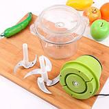 Універсальний подрібнювач vegetable mixer grant   блендер Блискавка, фото 6