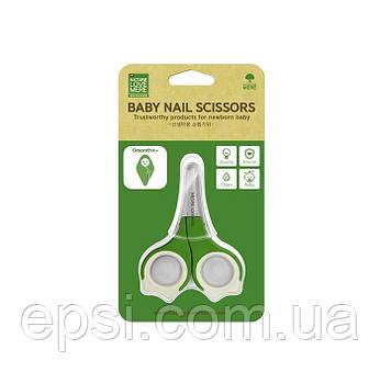 Специальные ножницы для ногтей новорожденного ребенка NatureLoveMere  Special Newborn  до 3 мес, Корея