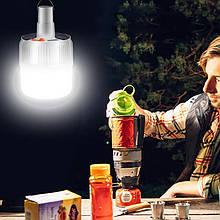 Світлодіодна лампа Led 24 на сонячній батареї 5 режимів освітлення 100 вт