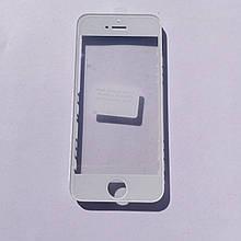 Стекло корпуса Novacel для Apple iPhone 5S с рамкой OCA пленкой White