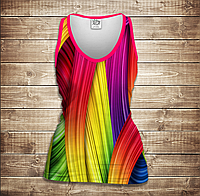 Майка 3D -Rainbow color