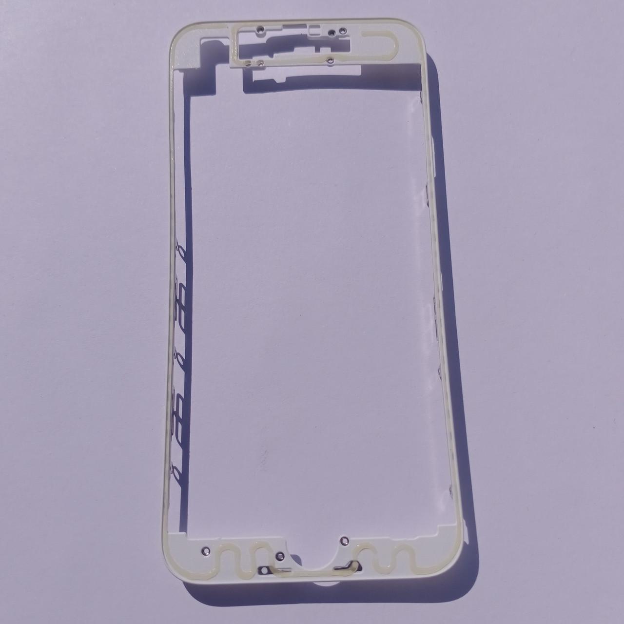 Рамка крепления дисплейного модуля Novacel для Apple iPhone 7 White