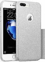Чехол-накладка Remax Glitter для Apple iPhone 7 Plus Серебристый