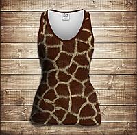 Майка 3D -Жирафа