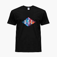 Детская футболка для девочек БТС (BTS) (25186-1062) Черный, фото 1