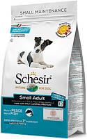 Schesir Small Dog Adult Fish сухий монопротеиновый корм для собак малих порід з рибою, 800г