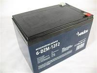 Аккумулятор тяговый 12V 12 Ah AGM MERLION 6-DZM-12 F2 (под пайку) 10x10x15см