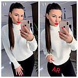 Жіночий светр/джемпер під горло (в кольорах), фото 3
