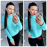 Жіночий светр/джемпер під горло (в кольорах), фото 5