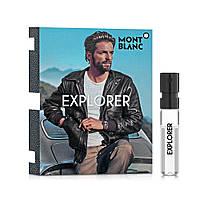 Montblanc Explorer Парфюмированная вода (пробник) 2ml (3386460101271)