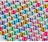 "Стразы-стикеры ""multicolority"" 6 мм 20 шт"