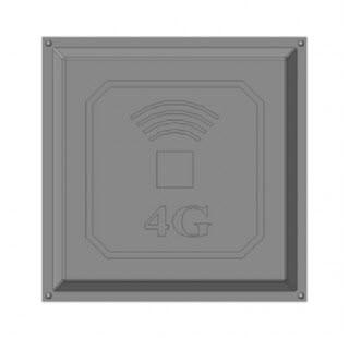 Антенна 3G/4G панельная 17 дБ