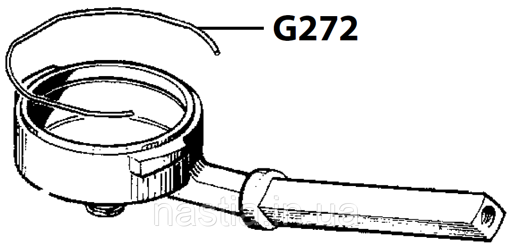 G272 Пружина(тримач сита у холдер), Gaggia