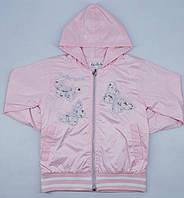 Ветровка M.L.V. 5819 140см(р) розовая