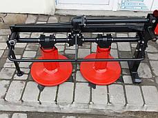 """Косилка роторная КР-09М """"ШИП"""" для мототрактора (модернизированная), фото 2"""