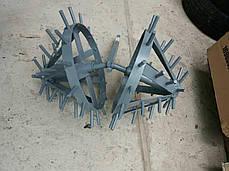 Комплект ежей на двойной сцепке для мотоблока (на втулках) ТМ ШИП, фото 2