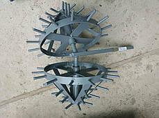 Комплект ежей на двойной сцепке для мотоблока (на втулках) ТМ ШИП, фото 3