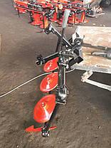 Косилка роторная КР-06 ШИП (для мотоблоков с ремнем), фото 3