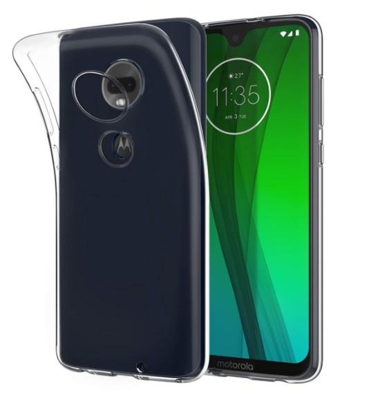 Силиконовый чехол для Motorola Moto G7 (T1962)