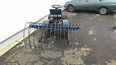"""Грабли для мототрактора мотоблочного """"Премиум"""" (1,5м), фото 2"""