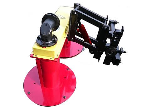 Косилка роторная мототракторная Володар КР-1,1 ПМ-1 под гидравлику (ширина кошения 110 см) с гидроцилиндром, фото 2