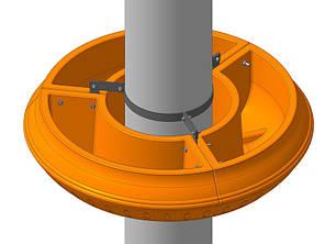 Крепление для вазонов фонарных GrunWelt 900, фото 2