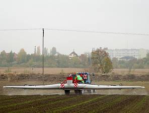 Опрыскиватель Goliat Plus 8000/27/РНR (гидравлический подъем и раскладывание крыльев), фото 2