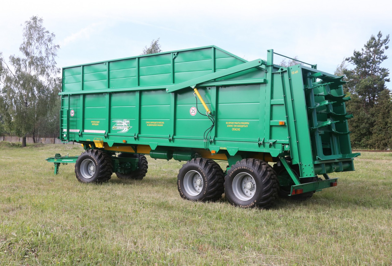 Машина для внесения твердых органических удобрений МТУ-24 -1 трехосная (24 т.) Бобруйскагромаш (Белоруссия)