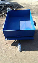 Прицеп-самосвал БелМет 105х120 для квадроцикла (жигул. ступица, 1 мм), фото 2