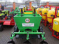 Картофелесажалка двухрядная Agromech 300 л (Украина-Польша), фото 2