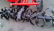 Почвофреза навесная Wirax 1,40 м (Украина - Польша, без карданного вала), фото 3