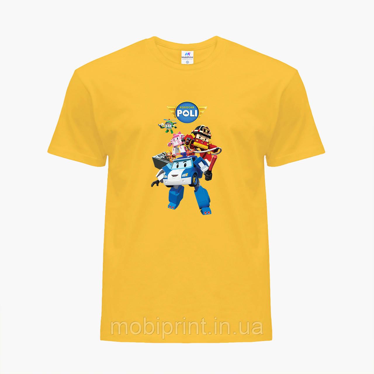 Детская футболка для девочек Робокар Поли (Robocar Poli) (25186-1619) Желтый